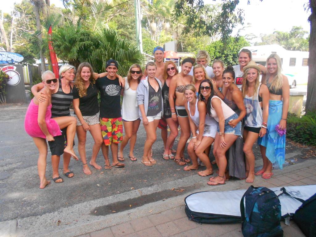 Surfing in Australia - the Mojo family