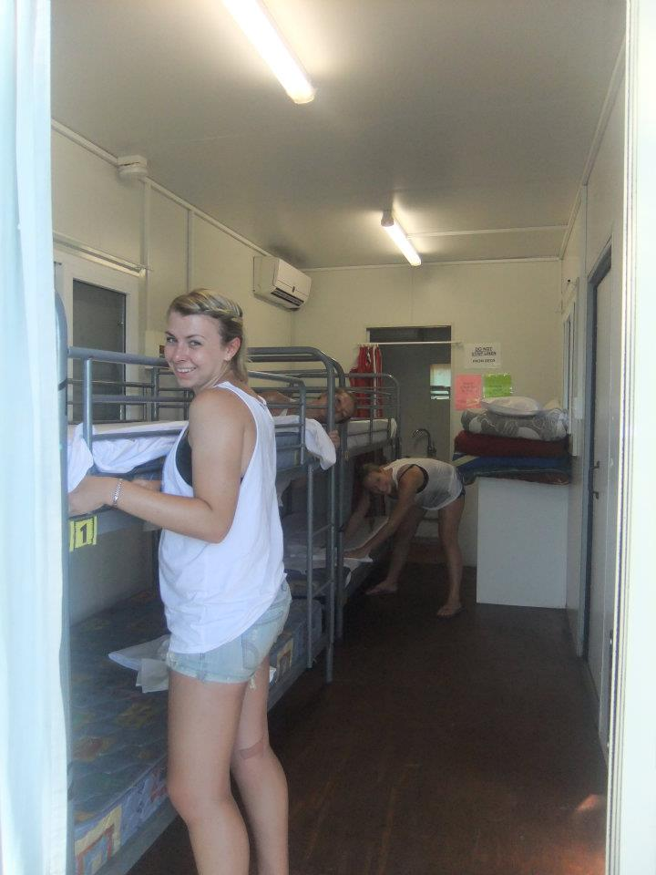 Surfing in Australia - earning my keep at Mojo!
