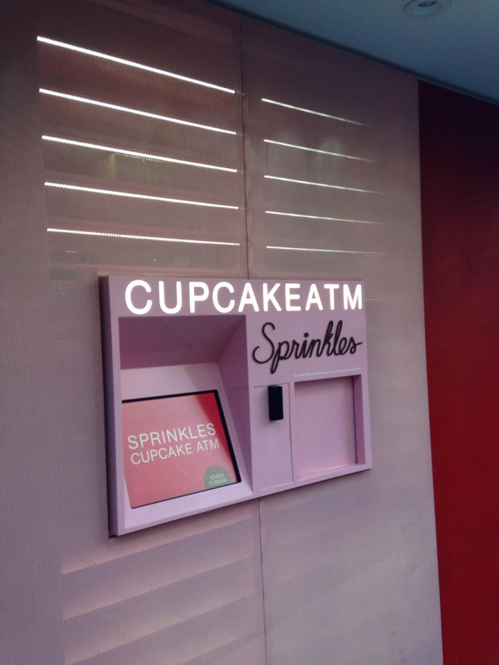 Sprinkles Cupcake ATM Machine