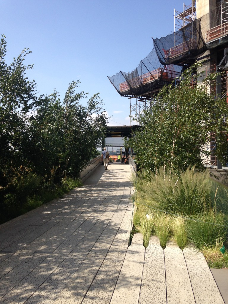A Walk on the High Line