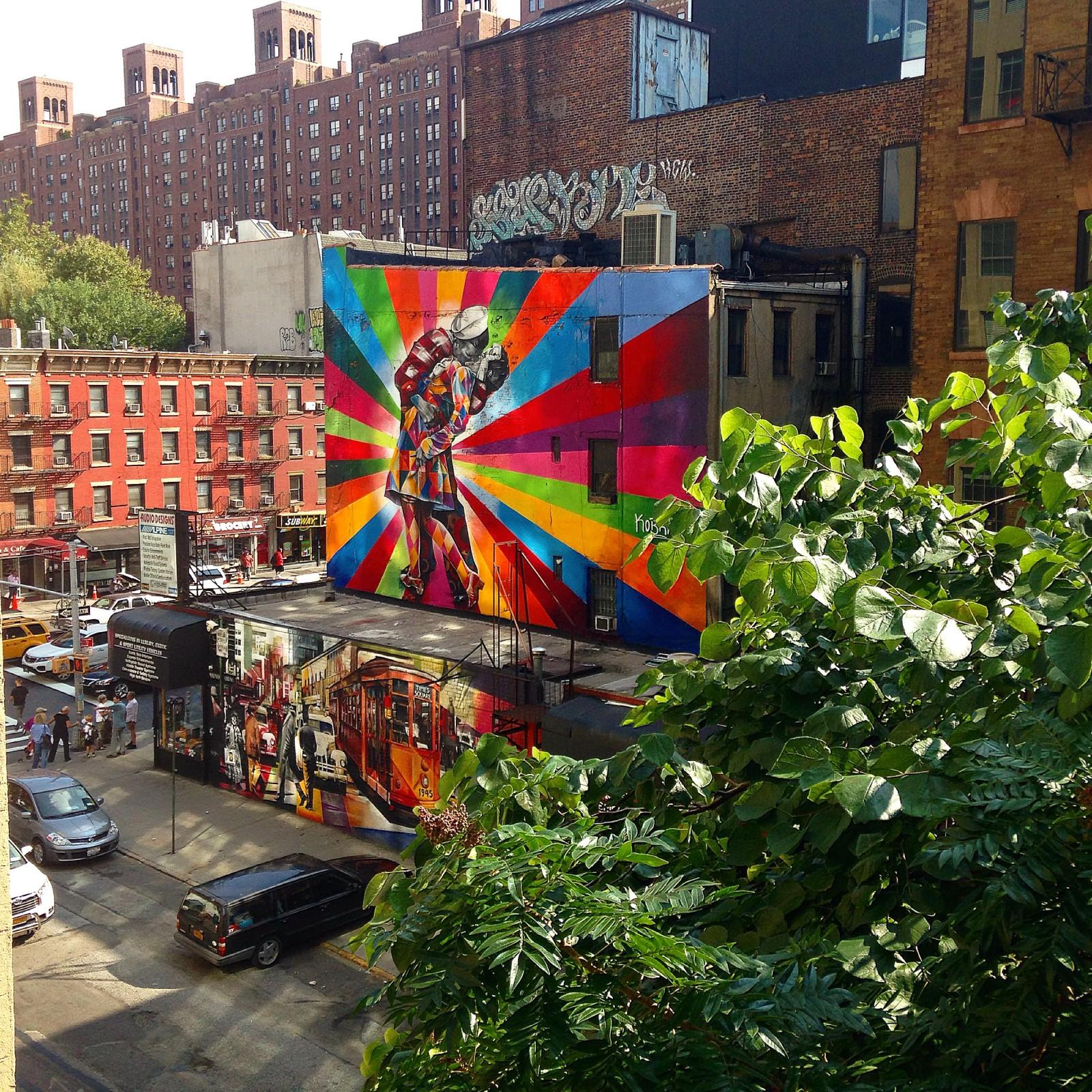 A Walk on the High Line
