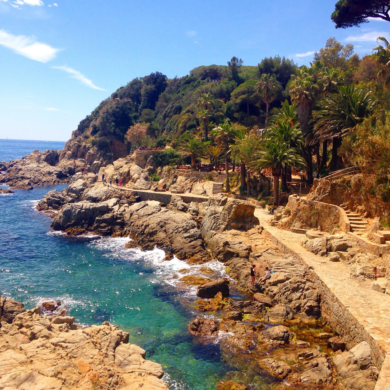 Lloret de Mar's coastal walk