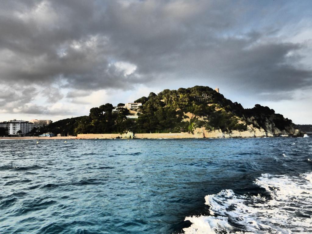 Lloret de Mar's coastline