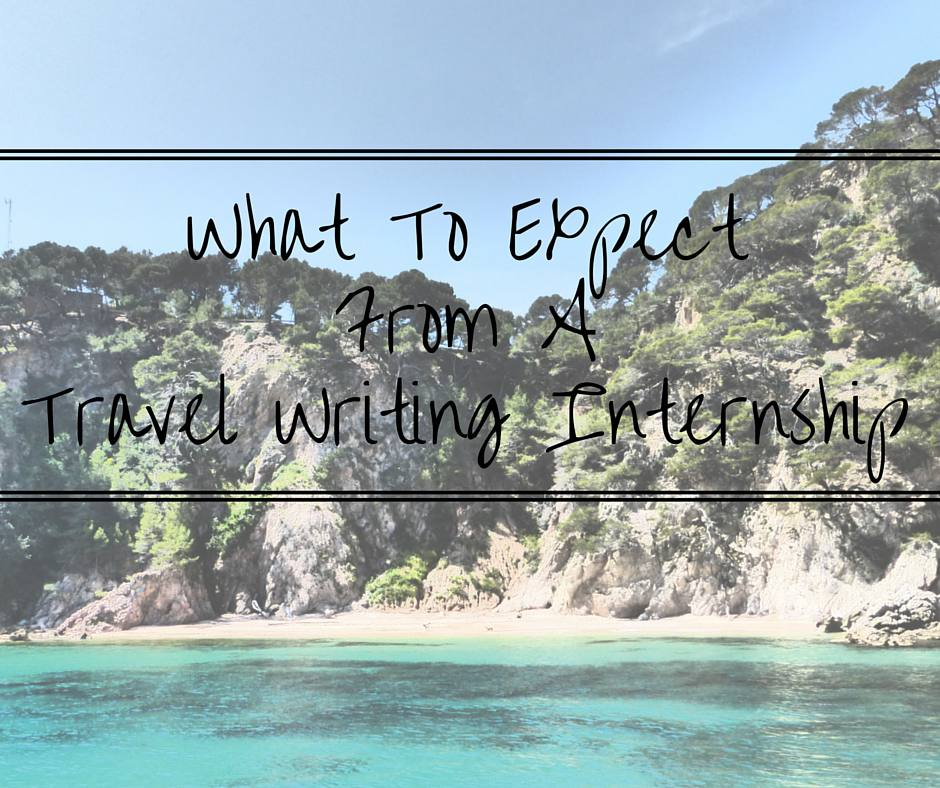 Writing internship