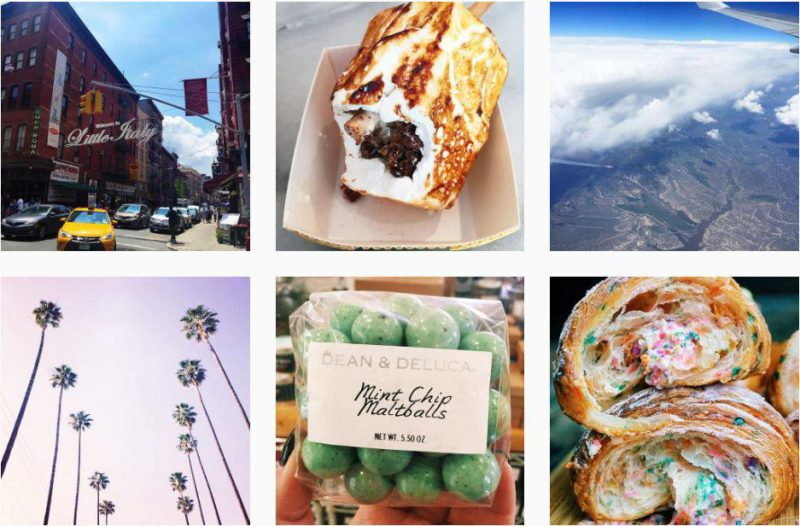 Female Instagrammers Snowflakes Palm Trees and Pretzels