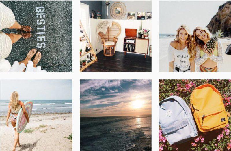 Female Instagrammers Two Little Birds Wander West
