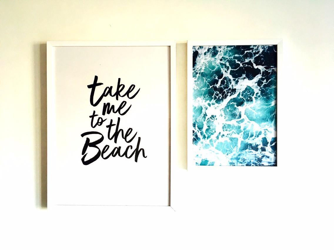 Desenio prints on wall