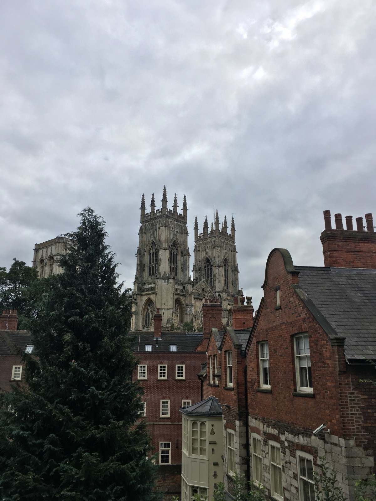 York Minster from the York walls